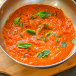 Basic Tomato Sauce from Fresh San Marzano
