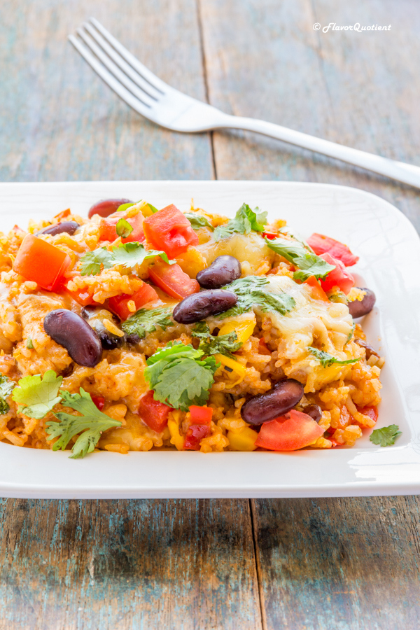 One Pot Mexican Chicken Rice Casserole
