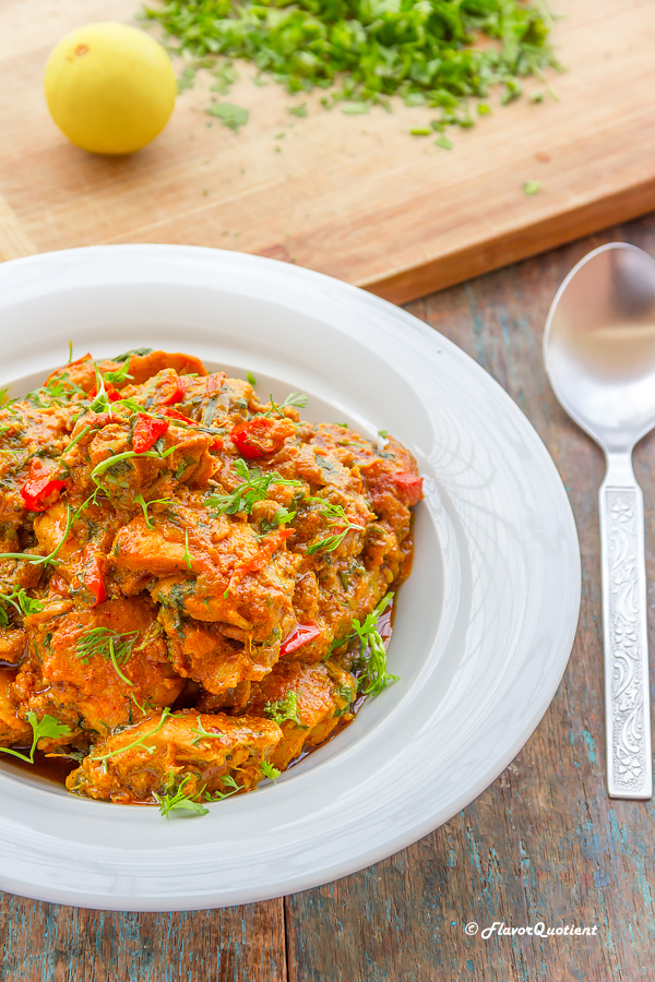 Indian Spiced Chilli & Ginger Chicken - Flavor Quotient