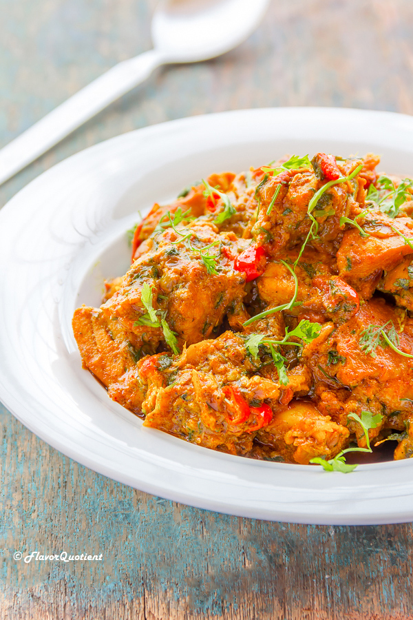 Indian Spiced Chili & Ginger Chicken | Flavor Quotient | This Indian spiced chili & ginger chicken is a perfect treat for a bright weekend which you decide to enjoy at home with friends and family or even all by yourself!