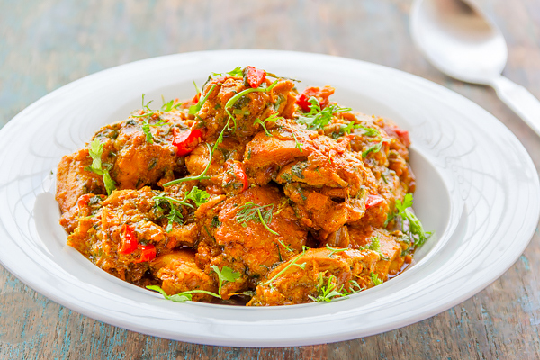 Indian Spiced Chilli & Ginger Chicken