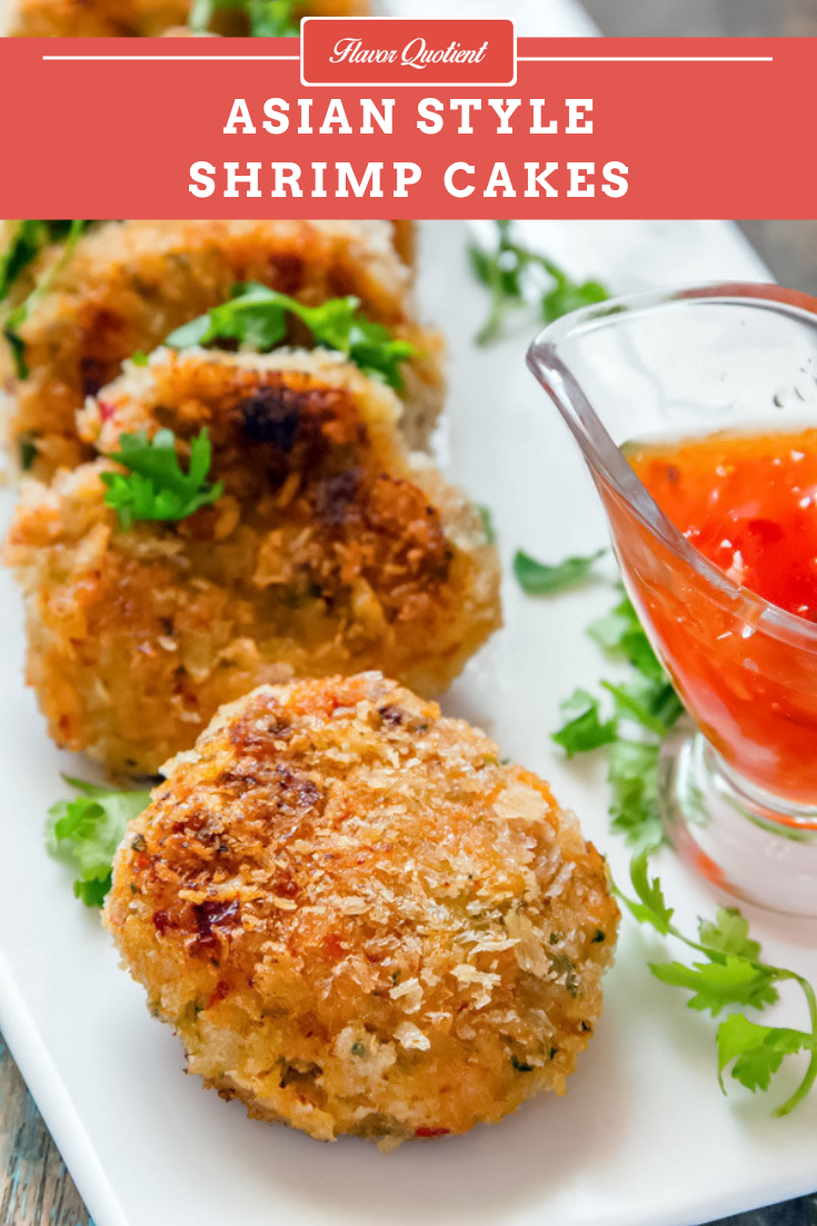 Asian Style Shrimp Cakes *Video Recipe* | Flavor Quotient | Shrimp cakes are mouthwatering appetizers which you won't be able to keep your hands off! Make a large batch to satisfy your sudden craving of a tasty snack!