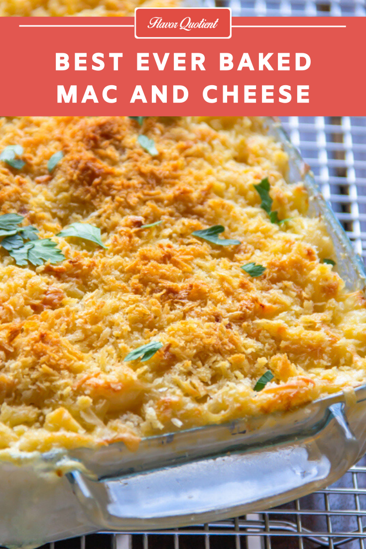 Homemade Baked Mac and Cheese Recipe | Flavor Quotient | Mac and cheese can easily be named as the most-loved comfort food of the world and it truly deserves all the love and attention it has been getting since ages!