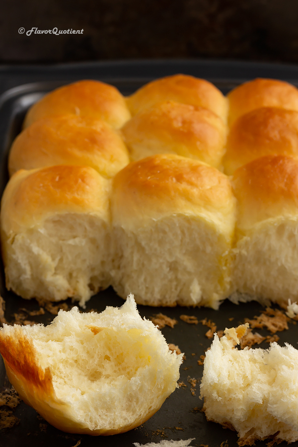 Easy Homemade Dinner Rolls Recipe | Flavor Quotient | Ready to turn your home into a bakery? Then bake this easy spectacular dinner rolls at home and mesmerize in the world's best aroma ever – the baking aroma!