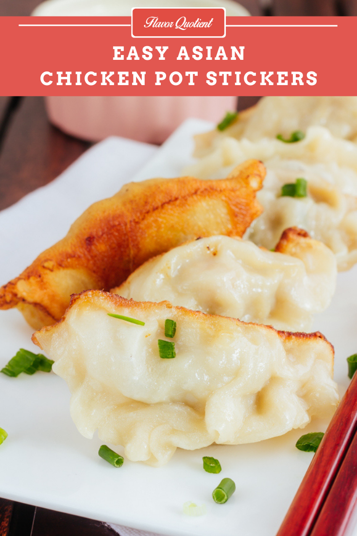 Chicken Potsticker | Flavor Quotient | A potential good year must start with exceptionally good food and that's exactly why I am starting my new year's journey with this amazing chicken potsticker!