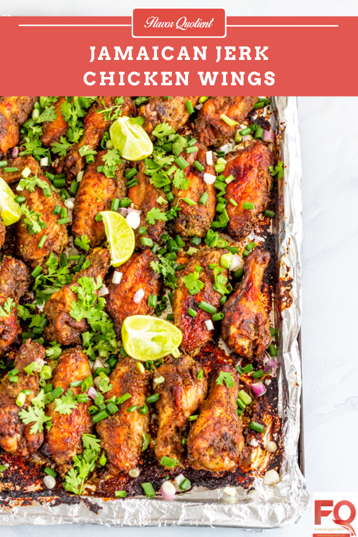 Jamaican Jerk Chicken Wings | Flavor Quotient | If you want to make one chicken wings recipe for the rest of your life then that has to be this classic jerk chicken wings!