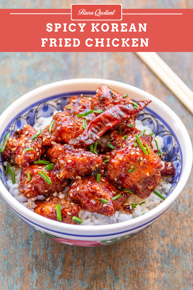 Easy & Spicy Korean Fried Chicken | Flavor Quotient | The hot and spicy Korean fried chicken is sure to give a kick to your taste buds. This is sure to give your favorite take-away restaurant a run for its money!