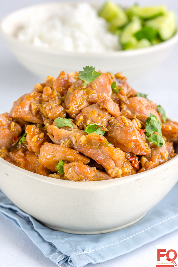 Vietnamese Lemongrass Chicken - Flavor Quotient: The refreshing fragrance of lemongrass gives a tasty twist to this quick & easy Vietnamese chicken recipe – lemongrass chicken!