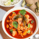 Thai Red Chicken Curry | Thai Red Curry with Chicken & Veggies