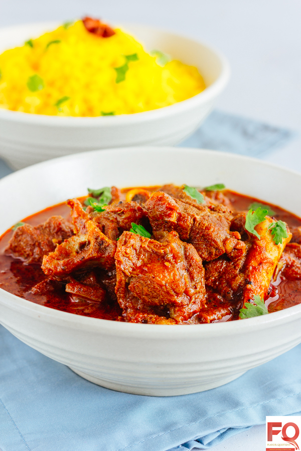Authentic Goan Lamb Vindaloo | Flavor Quotient | The Goan lamb vindaloo is a classic recipe of lamb curry which is an exemplary outcome of culinary amalgamation of two cultures – Indian and Portuguese!