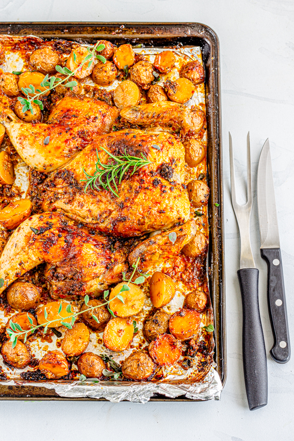 Spatchcock chicken | Flavor Quotient | Roasting season is just around the corner and this spicy roasted spatchcock chicken will make the process utterly fun and hassle-free!