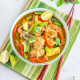 Thai Green Chicken Curry | Restaurant Style Thai Green Curry Recipe
