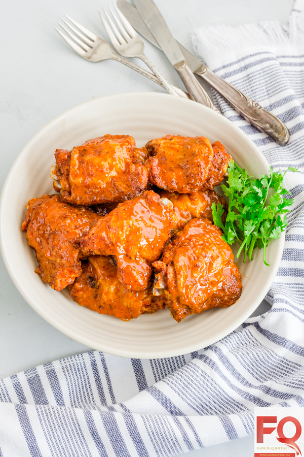 Looking for super-easy chicken dinner which will be loved by all in the family? This oven fried chicken thighs is practically a zero-effort recipe with just 5 ingredients and a sure-shot winner on dinner table! | oven fried chicken recipe | oven fried chicken thighs | oven fried chicken drumsticks | oven fried chicken recipes easy | oven fried chicken legs | oven fried chicken recipes crispy | best oven fried chicken | easy oven fried chicken