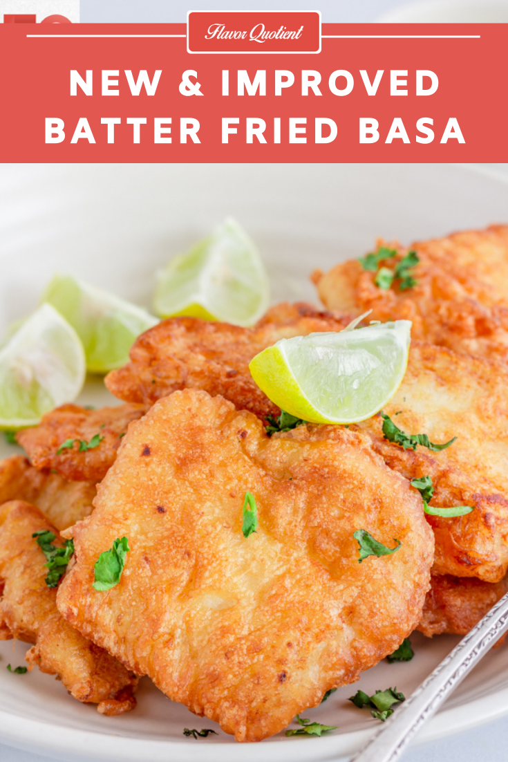 New & Improved Batter Fried Basa | Flavor Quotient | The most popular recipe of my blog, batter fried basa, got an all-new makeover today and became even more delish and more addictive!