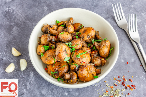 The flavorful butter garlic mushrooms pair up as a perfect side with your grilled or barbecued meat as it's truly a zero-hassle recipe! It's a great healthy snack option too!| Butter Garlic Mushrooms | Butter Garlic Mushrooms pasta | Butter Garlic Mushrooms recipe | Creamy Butter Garlic Mushrooms | Butter Garlic Mushrooms sauce | Sauteed Butter Garlic Mushrooms | Butter Garlic Mushrooms photography | roasted Butter Garlic Mushrooms | Brown Butter Garlic Mushrooms