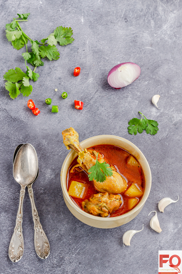 I am sure you have had various styles of chicken stew and definitely have one favorite! Now try my version of chicken stew which has a secret ingredient that makes it insanely delicious and different from a typical one!